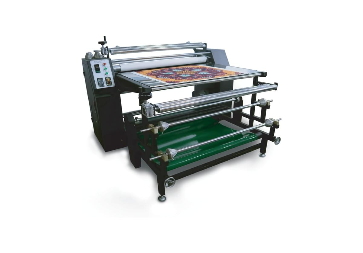 ROLLER TYPE HEAT PRESS