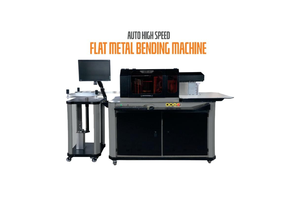 FLAT METAL BENDING MACHINE