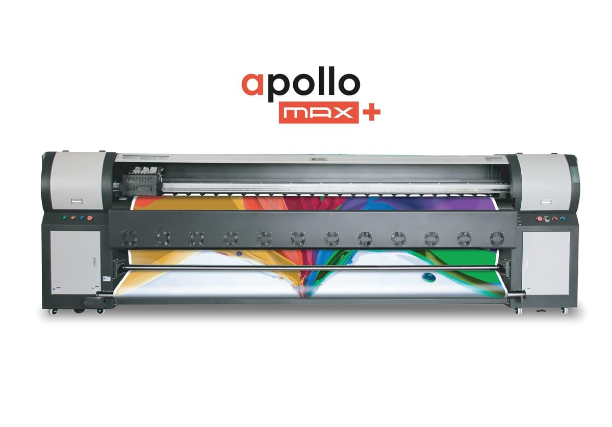 apollo max + solvent printer