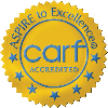 We are a CARF accredited agency.