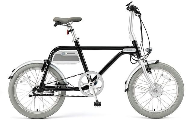 電動アシスト自転車 COOZY(BLACK)