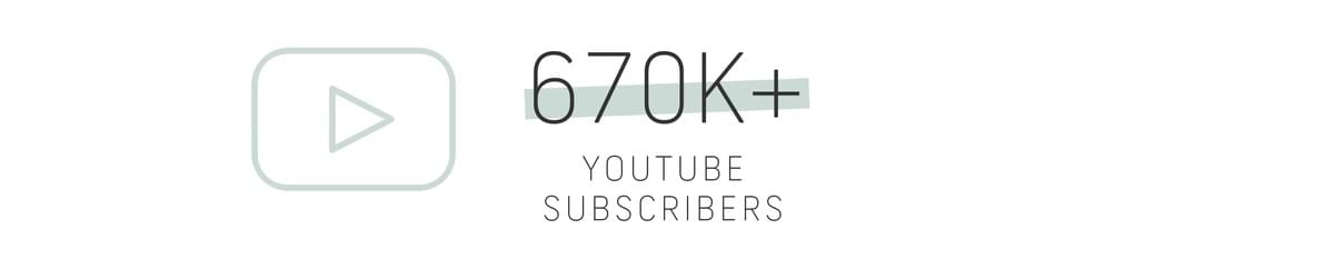 Six hundred seventy thousand plus YouTube subscribers