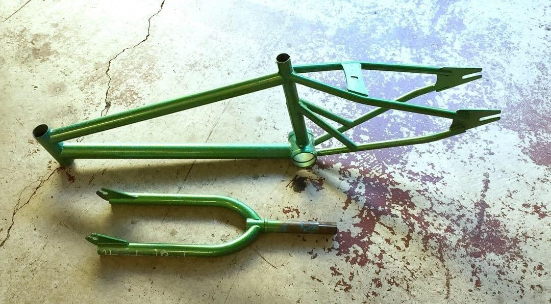 Homestead Bicycles Basilisk Pro BMX Frame and Fork set #001