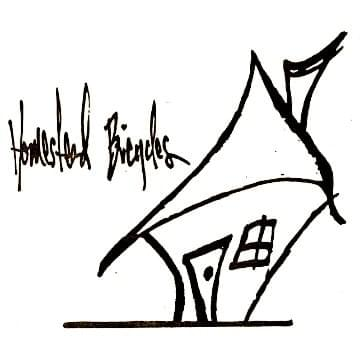 Homestead Bicycles little house logo V2