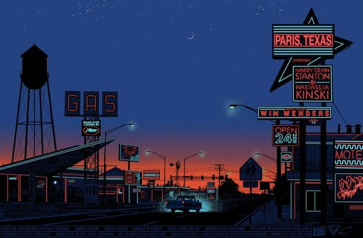 Dan McCarthy, Paris, Texas / Sunset, 2019
