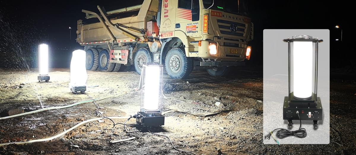 Good Lighting sitelux area led task light for construction sites