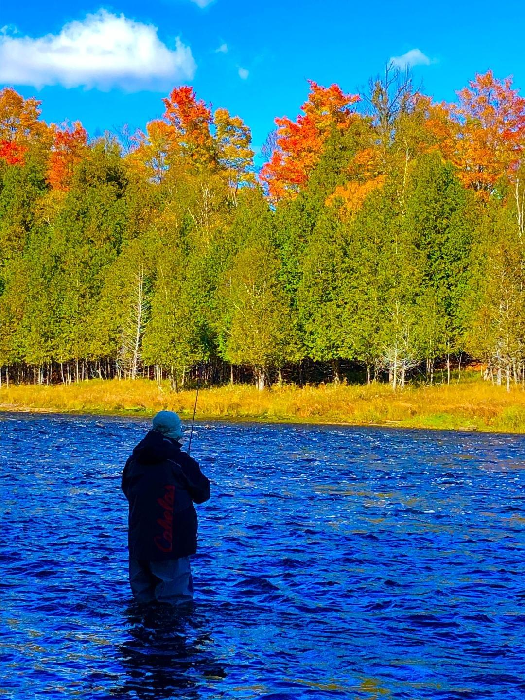 upper peninsula fly fishing