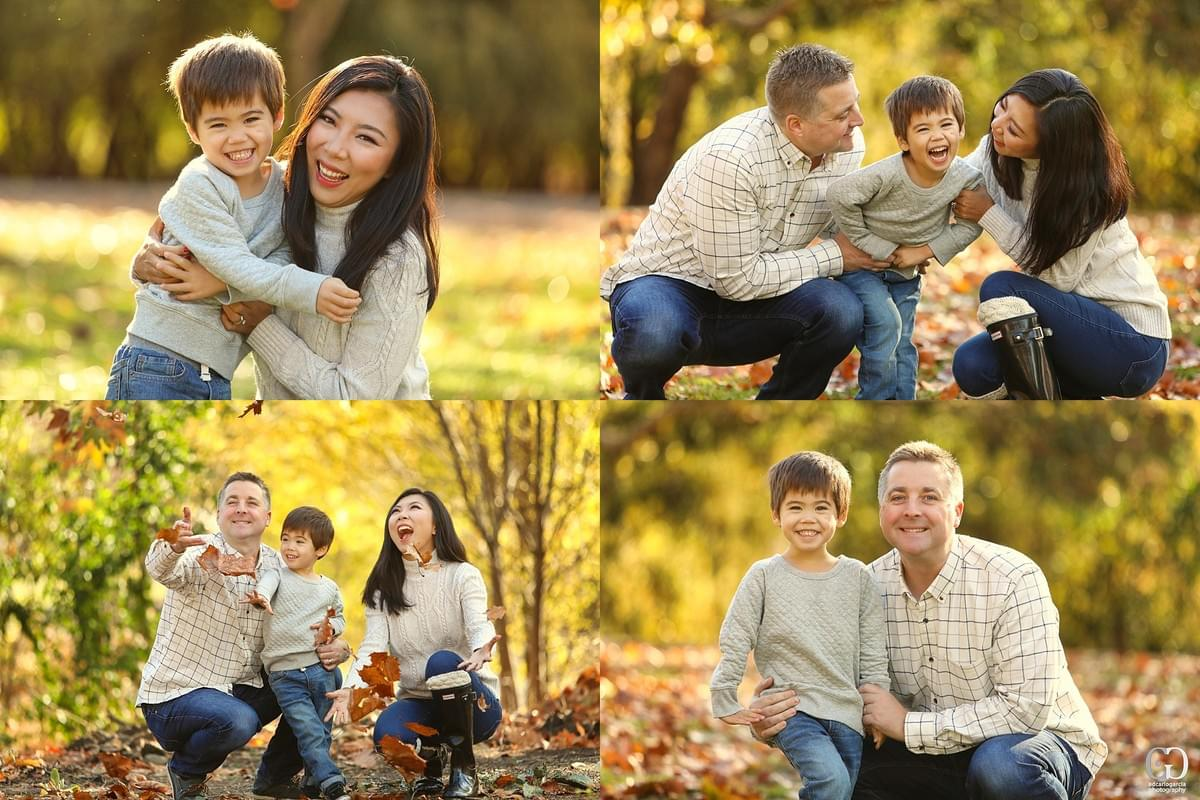 los gatos family portrait photographer san jose vasona park sf bay area