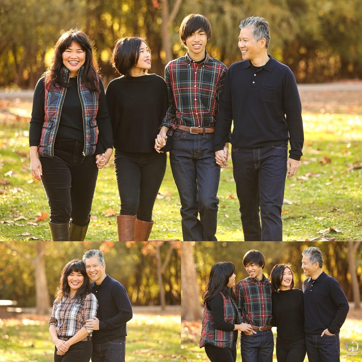 san jose family portrait photographer los gatos vasona park sf bay area