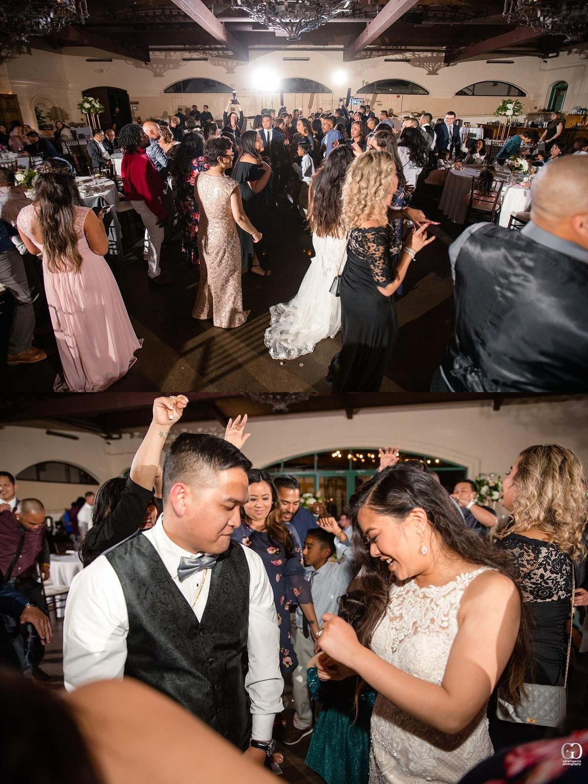 bridges golf club wedding san ramon photographer dancing bride and groom filipino cambodian wedding