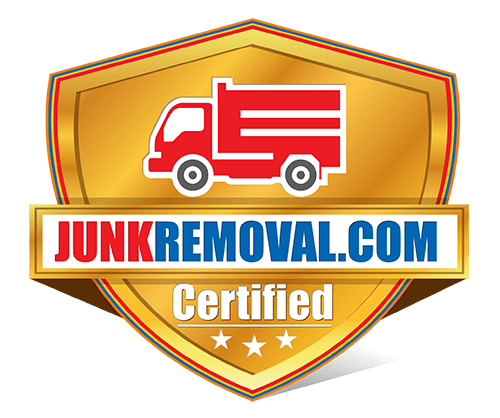 Junk Removal Badge Dallas