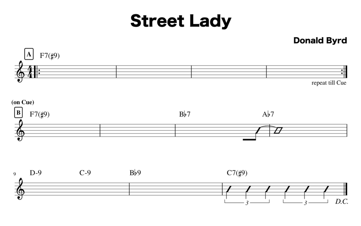 Street Lady Changes