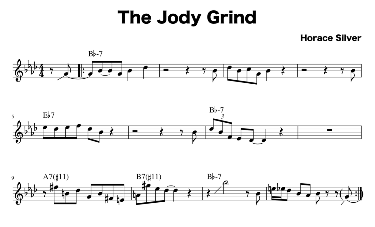 The Jody Grind Change