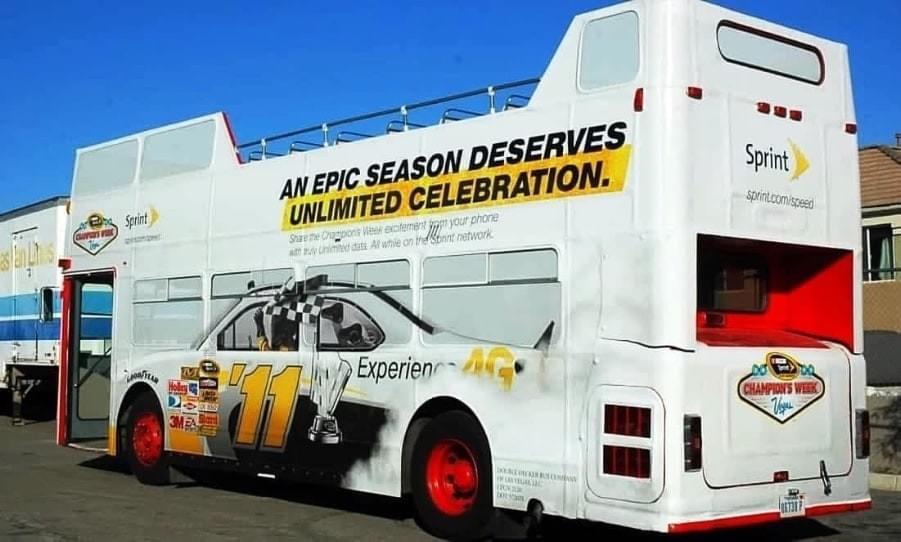 Double Decker Bus - Promotional Wrap
