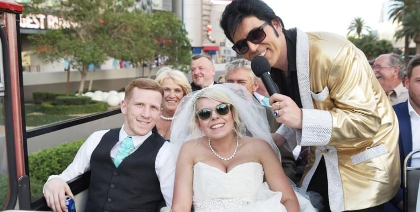 Las Vegas Themed Wedding Ideas - Elvis - Celebrity Impersonators