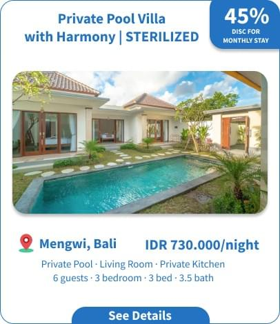 Private Pool Villa with Harmony | STERILIZED