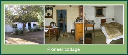 Pioneer cottage in Karoo