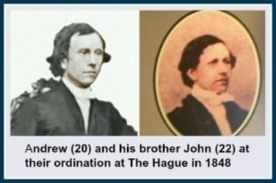 Andrew and John Murray in 1848