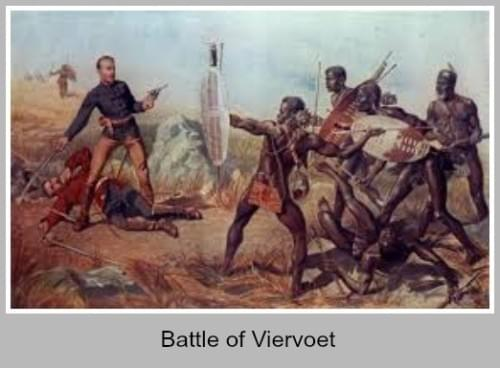 Painting of the Battle of Viervoet