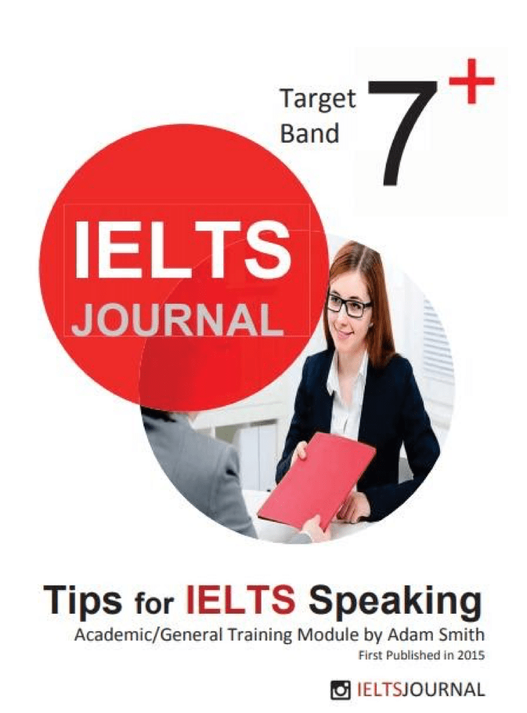 Tips for IELTS Speaking (Target 7+)