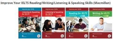 Improve Your IELTS Reading/Writing/Listening & Speaking Skills (Macmillan)