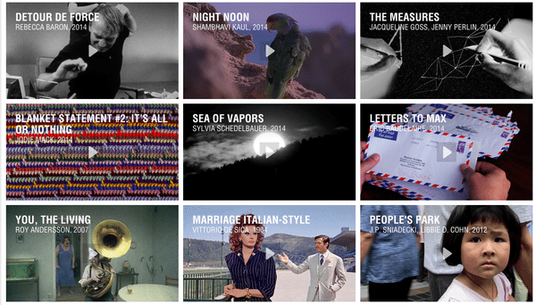 Films on MUBI