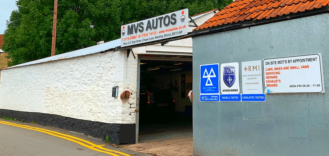 Vehicle MOT, repair and servicing in Warmley, Longwell Green, Lyde Green, Kingswood and Bristol