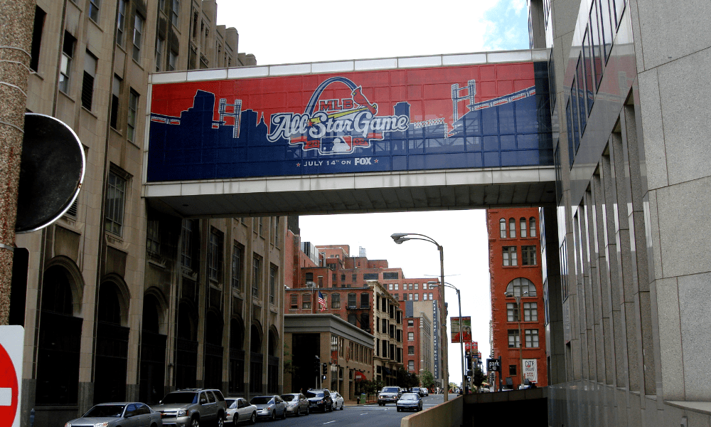 Skybridge Vinyl Mesh Banner Graphics