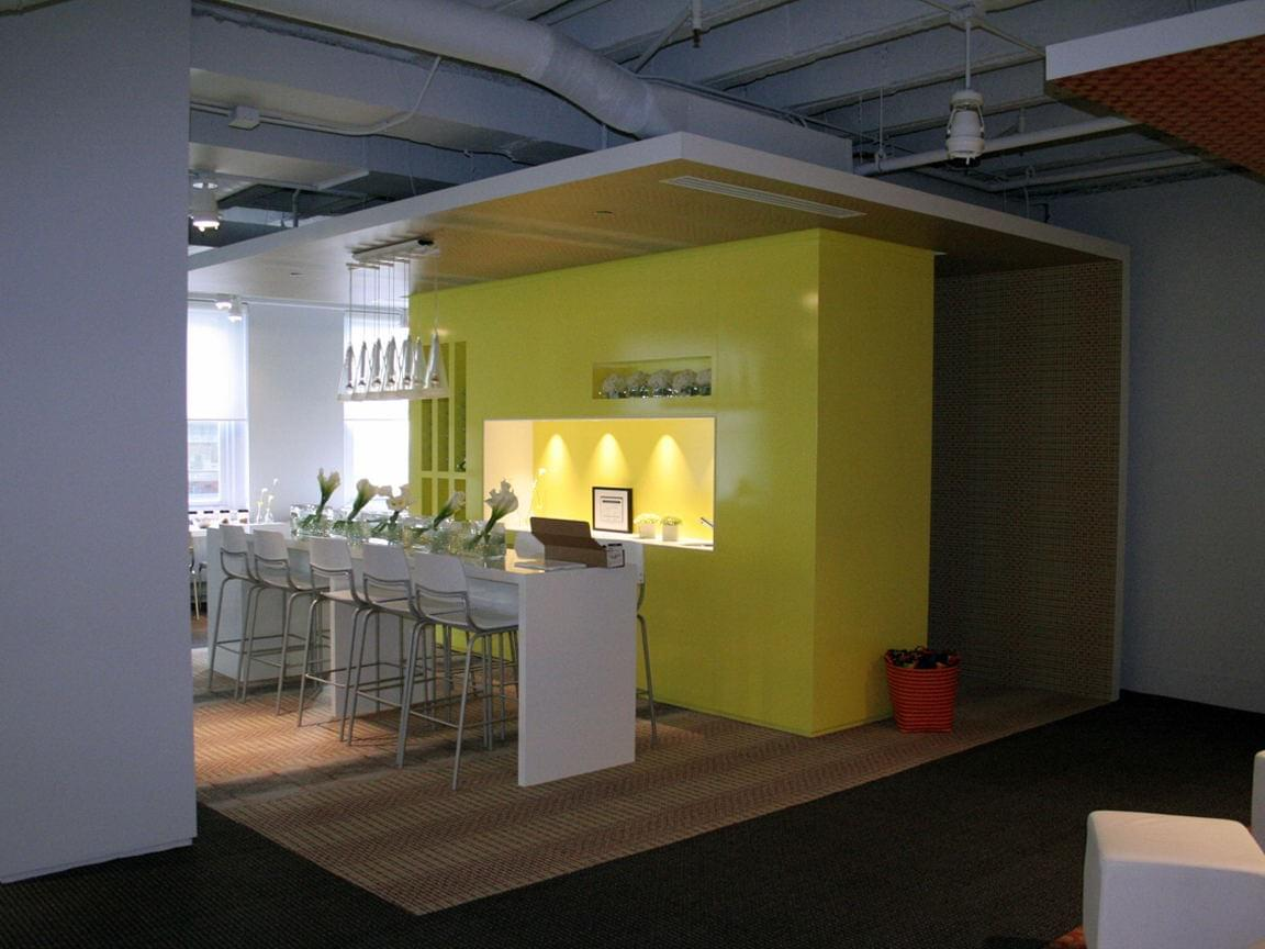 Milliken Neocon Showroom Custom Wallpaper Graphics