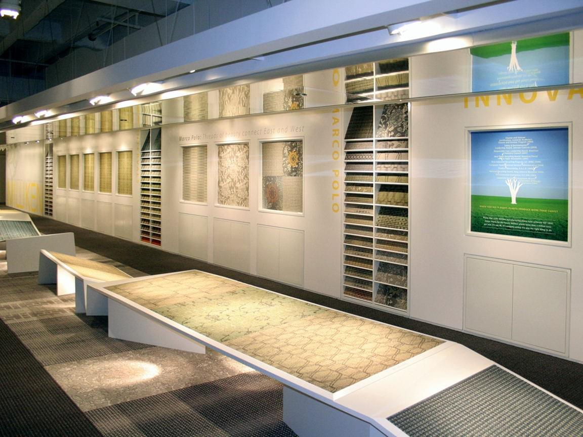 Milliken Neocon Showroom Wall Murals