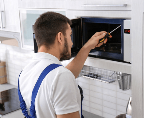 Microwave Oven Repairing Services in sort time through online