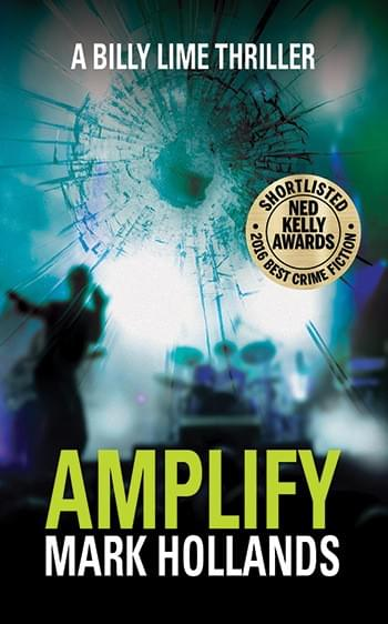 Amplify: A Billy Lime Thriller paperback cover