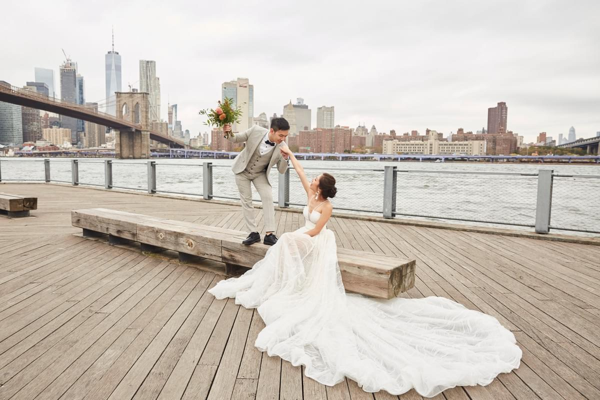 New York pre-wedding, 旅拍,婚紗旅拍 ,紐約攝影師 , New York photographer, Dumbo