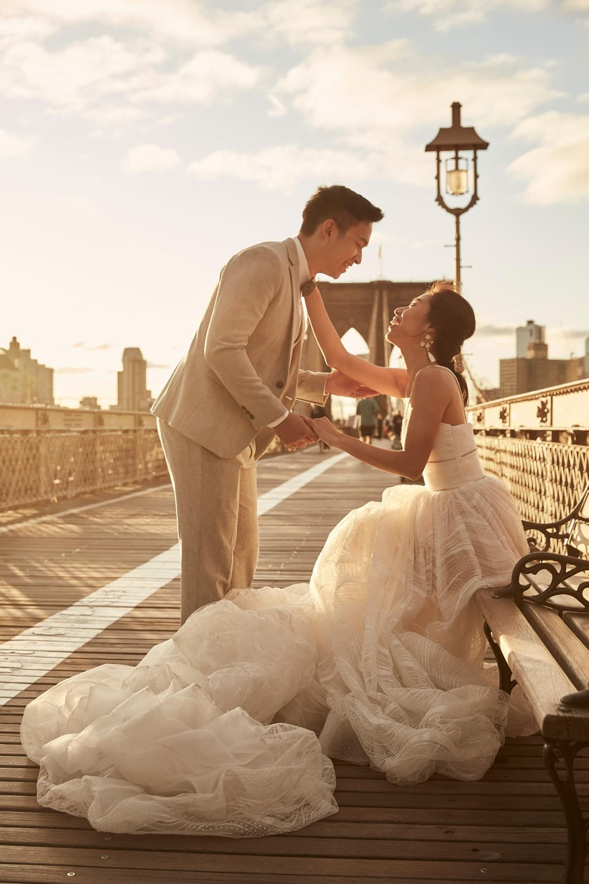 New York pre-wedding, 旅拍,婚紗旅拍 ,紐約攝影師 , New York photographer, Brooklyn Bridge