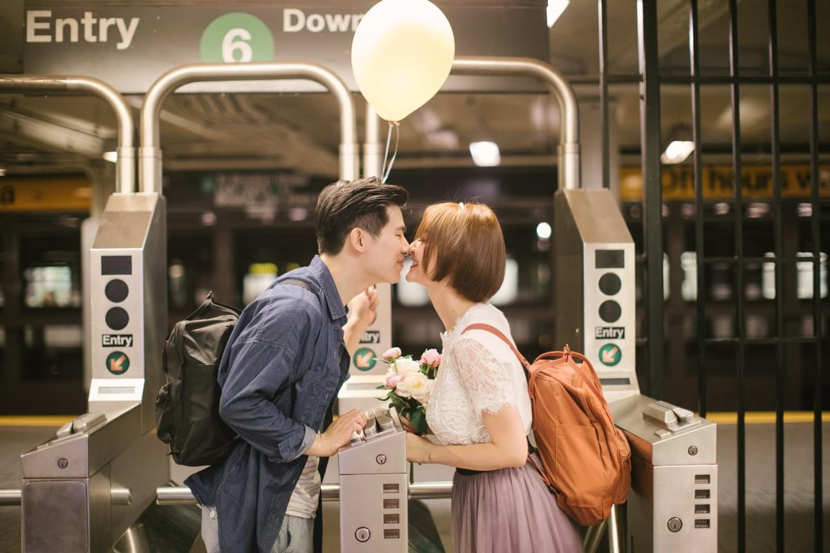 旅拍婚纱 / pre-wedding / 海外婚纱拍摄 / 纽约摄影师 / New York Photographer / wedding photographer / NYC Subway