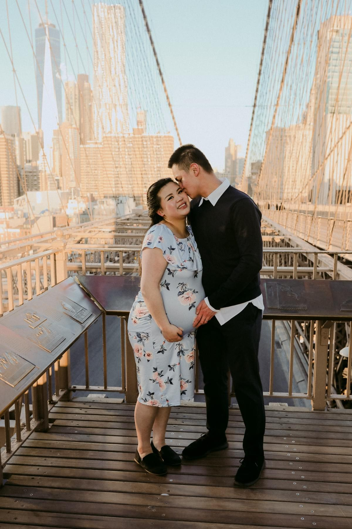 孕婦寫真 / 纽约孕妇写真 / New York Maternity Photography / Dumbo Brooklyn Maternity Photo Shoot / 纽约摄影师