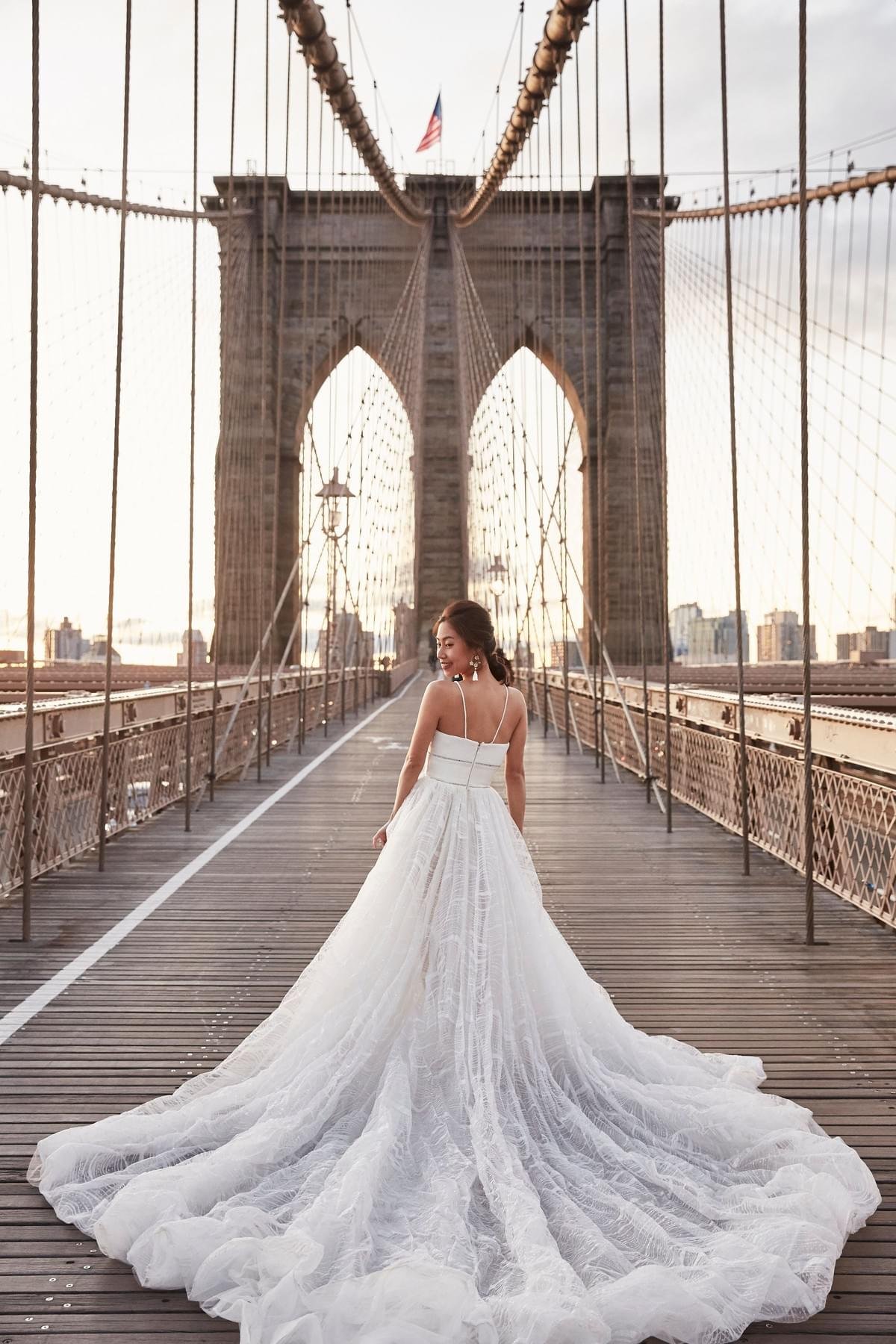 New York pre-wedding, 旅拍,婚紗旅拍 ,紐約攝影師 , New York photographer , Brooklyn Bridge