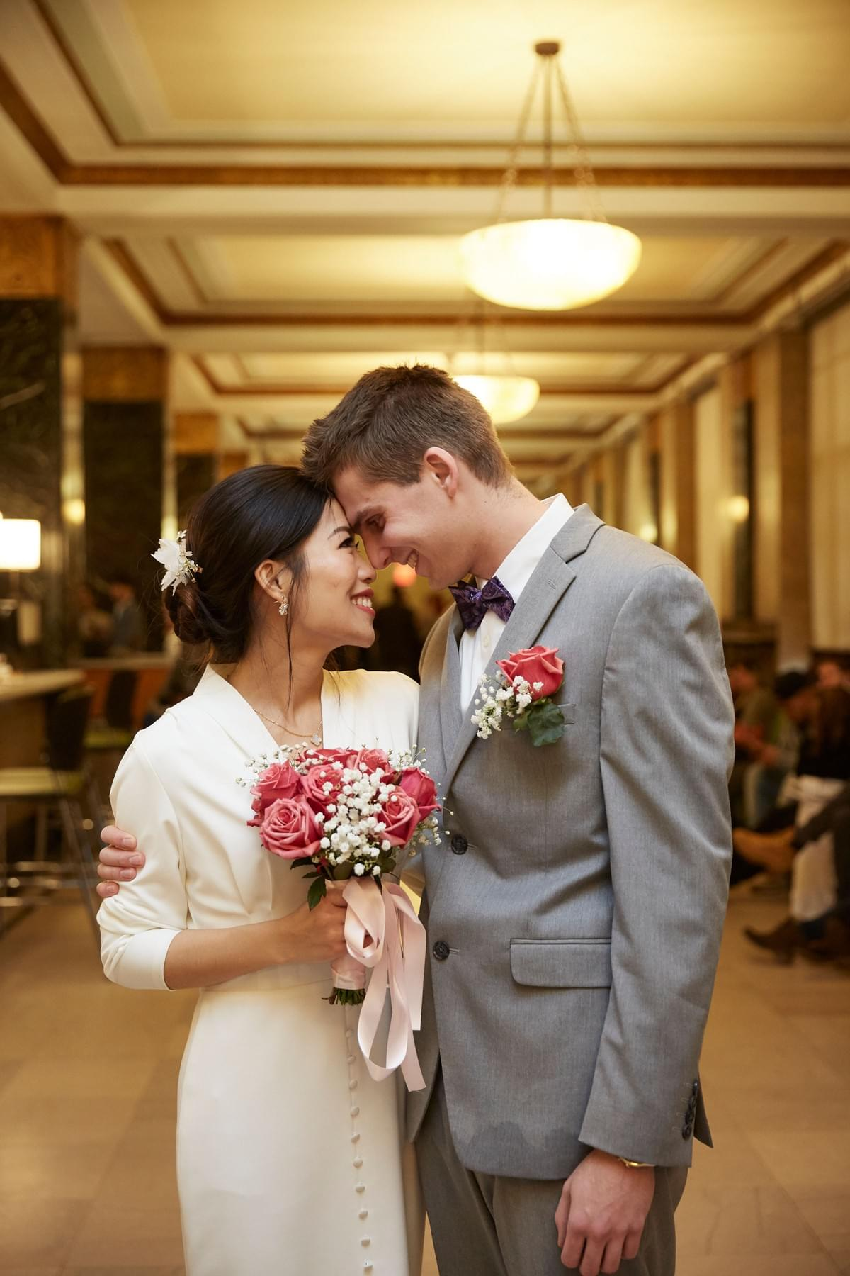 New York City Hall / New York Wedding / City Clerk wedding / City Marriage Bureau / 纽约公证结婚 / 纽约结婚公正摄影师/  纽约摄影师