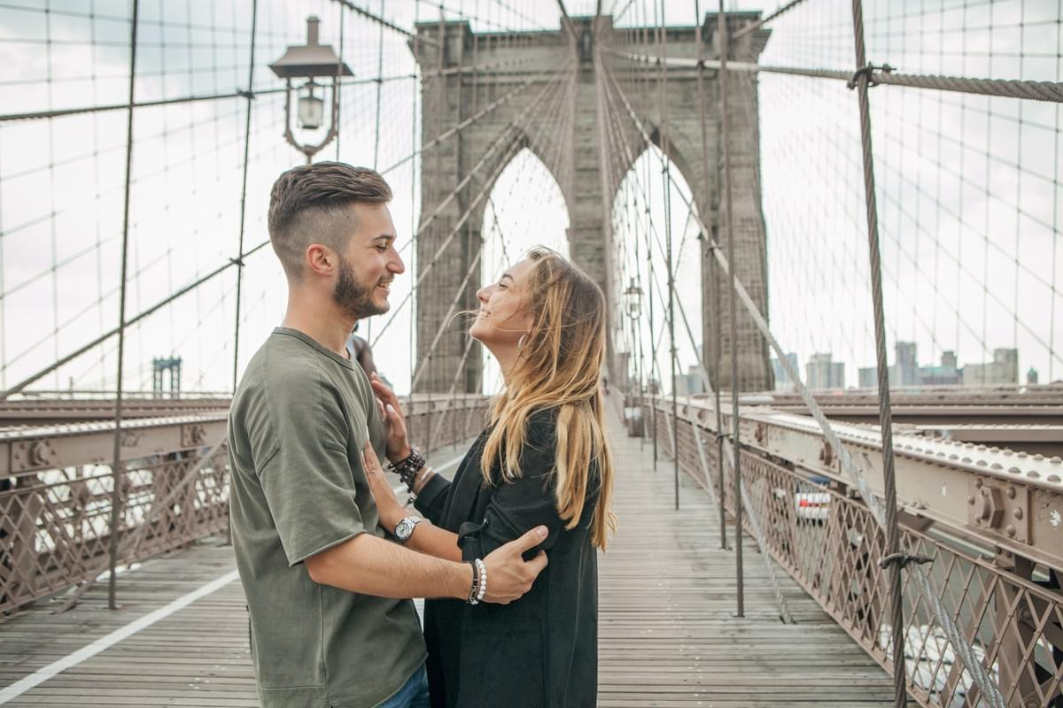 Brooklyn Bridge / NY photographer /  紐約旅拍 / couple photo shoot