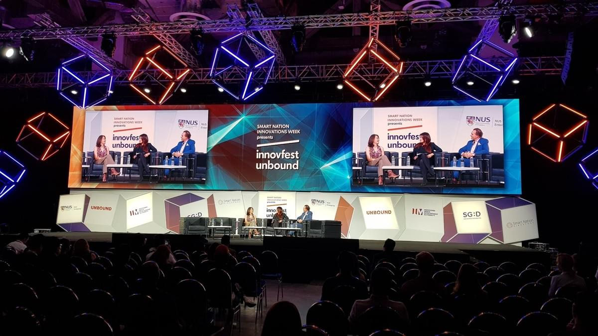 CXA Founder Rosaline Chow Koo and SVP APAC Simon Tate, of Salesforce join r3i Ventures General Partner Leesa Soulodre to explore Friction Free Futures at InnovfestUnbound 2019