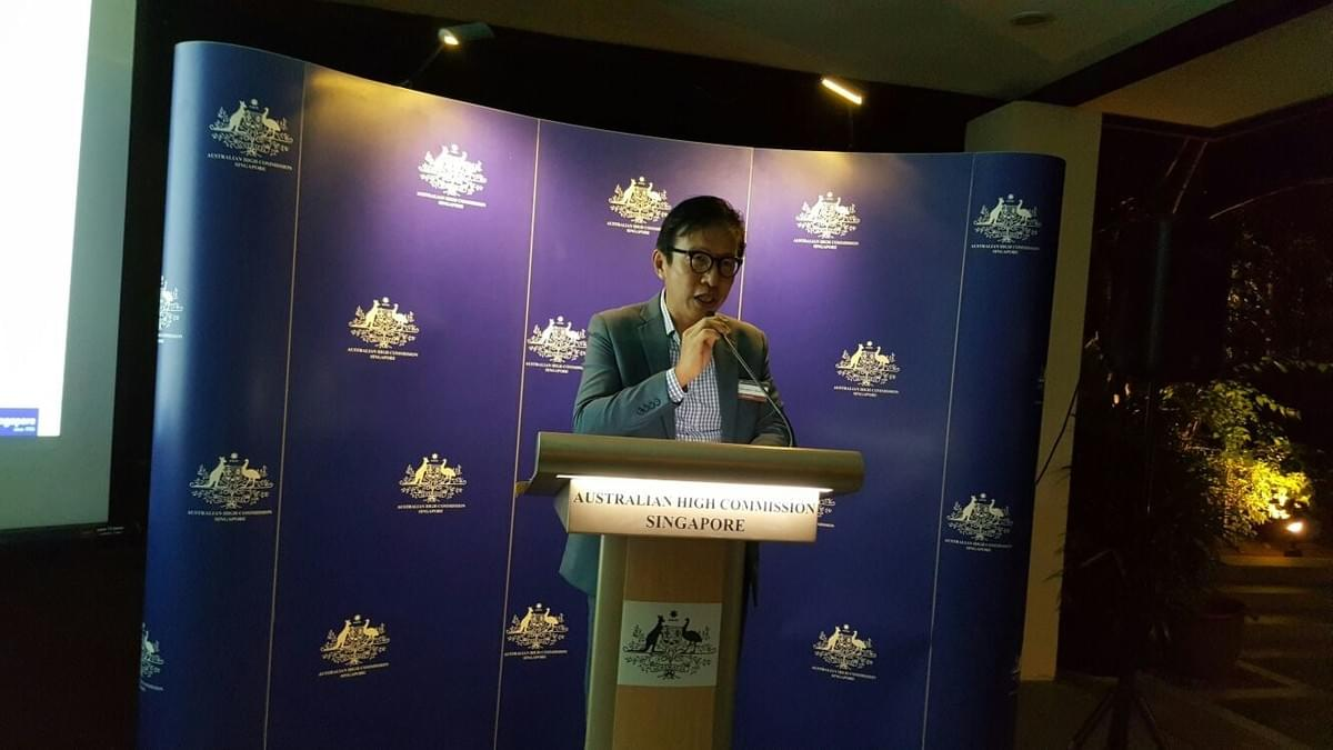 Speech by AAS President - Chris Cheah