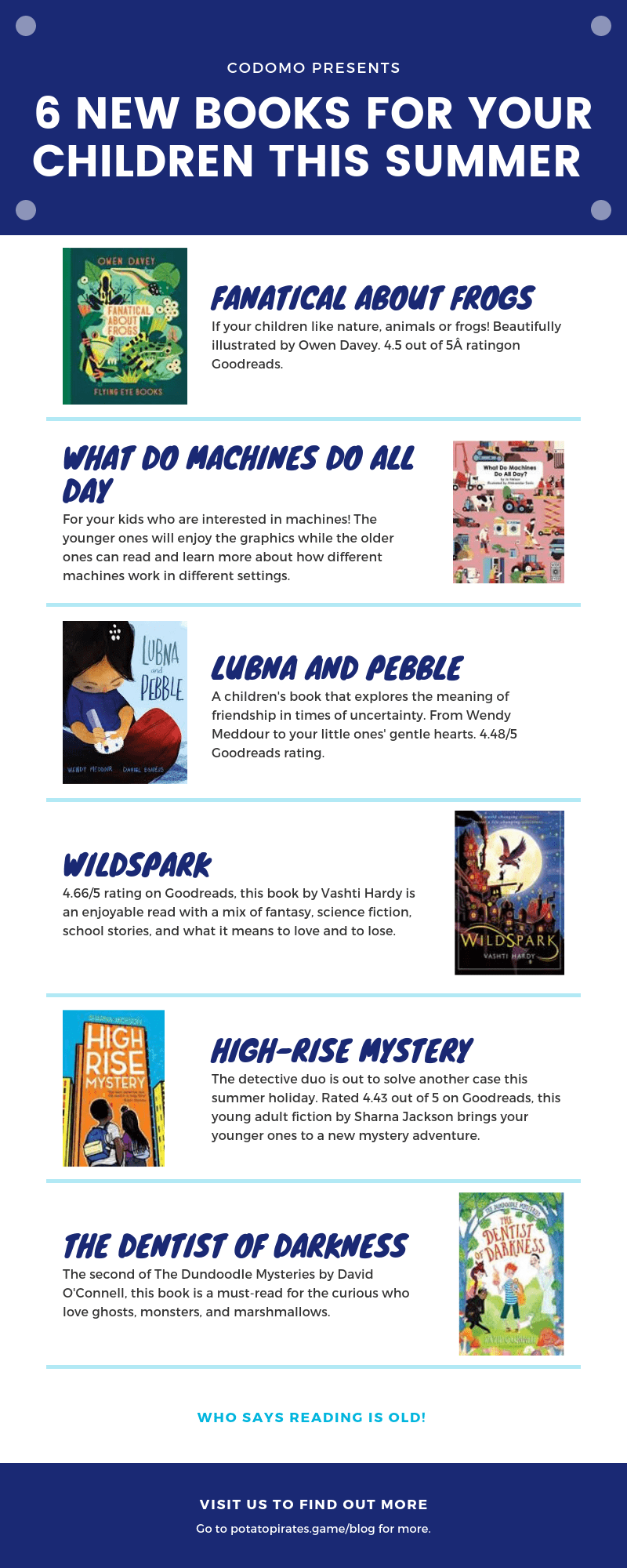 New books for your children this summer holidays 2019