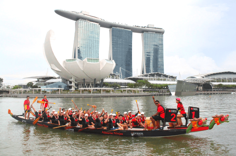 Corporate Dragon Boating Session by Dragon Boat Innovate (DBI)