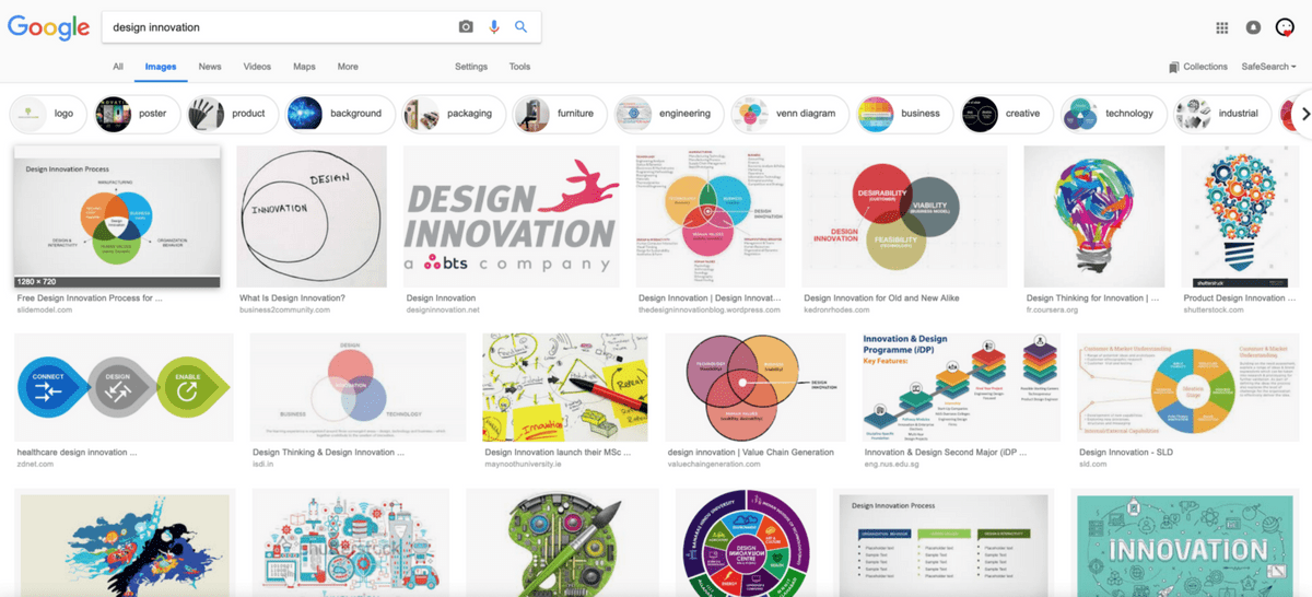 What is Design Innovation Google Search
