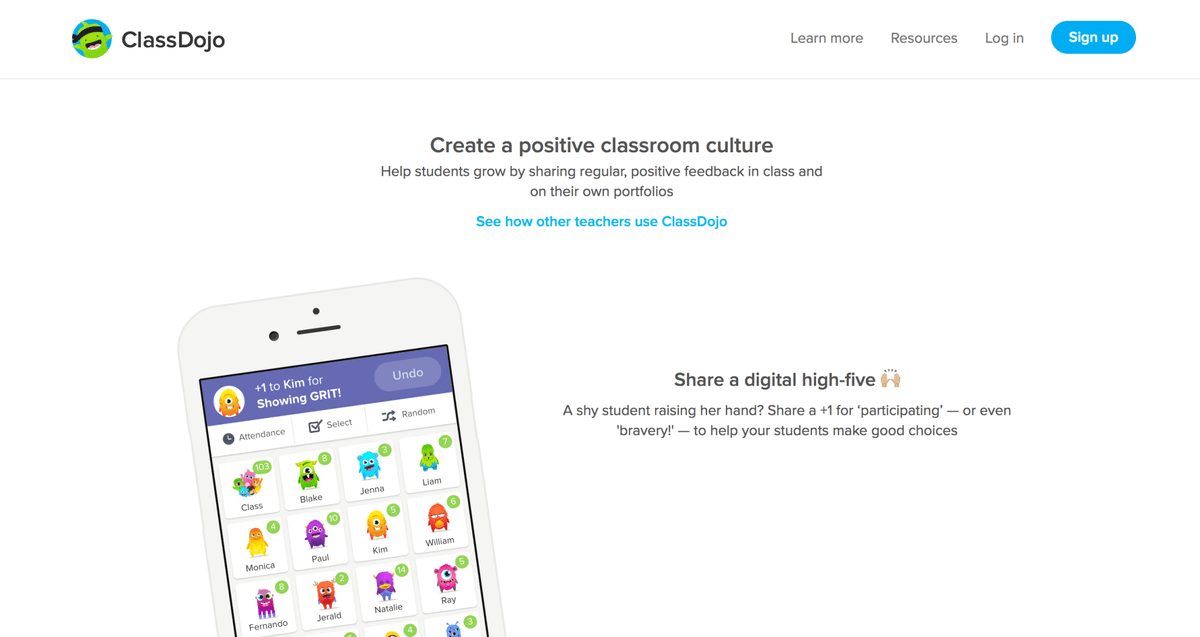 Use ClassDojo to boost participation
