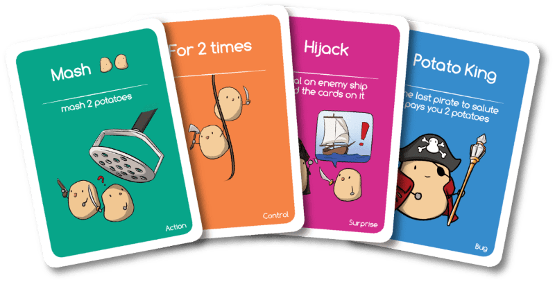 Potato Pirates Coding Card Game