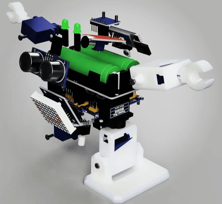 picture of modular DIY robot kit