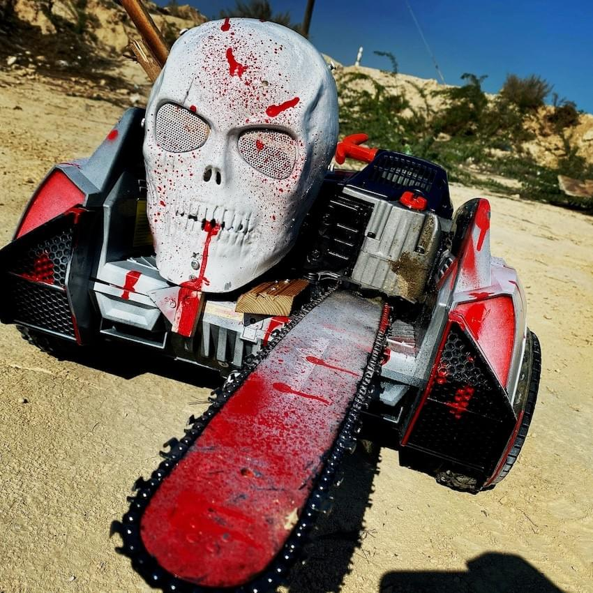 Splatterhouse, my non-working chainsaw car
