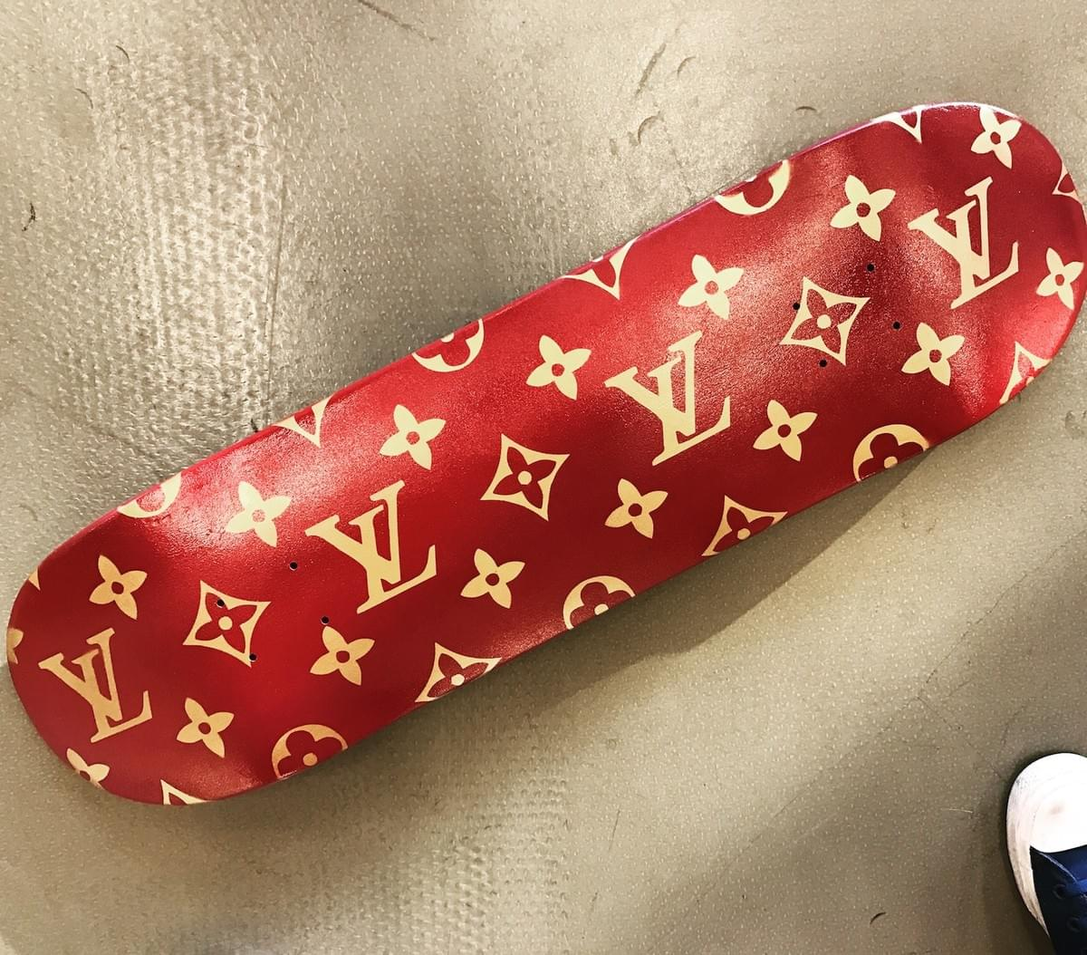 Louis Vuitton Skateboard