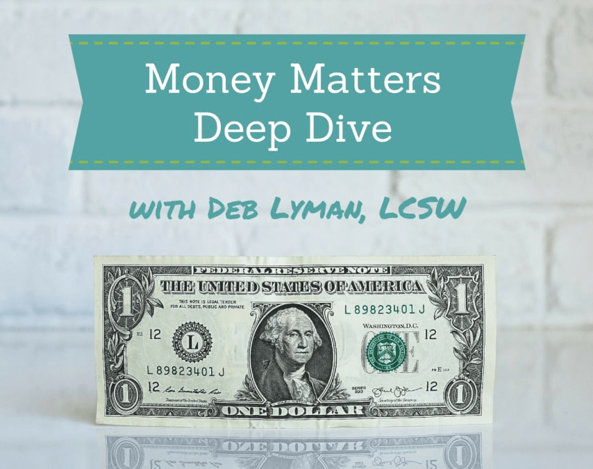 Money Matters Deep Dive Online Course